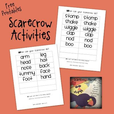 Scarecrow Games Printables