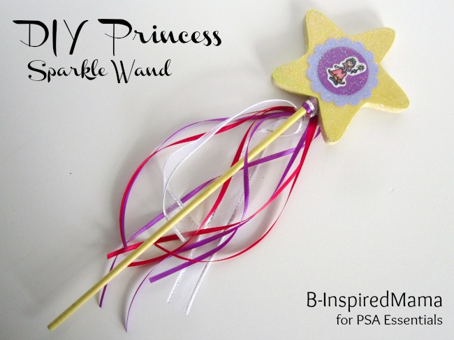 Create a Wand for Your Princess at B-InspiredMama.com