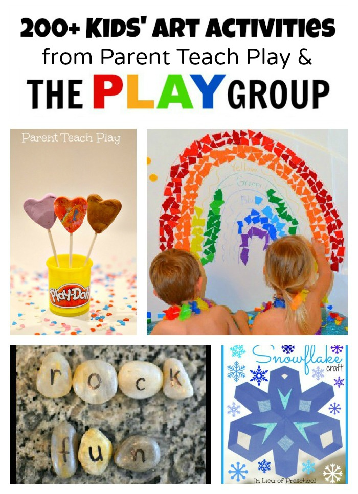 Art Activities from Parent Teach Play and The PLAY Group