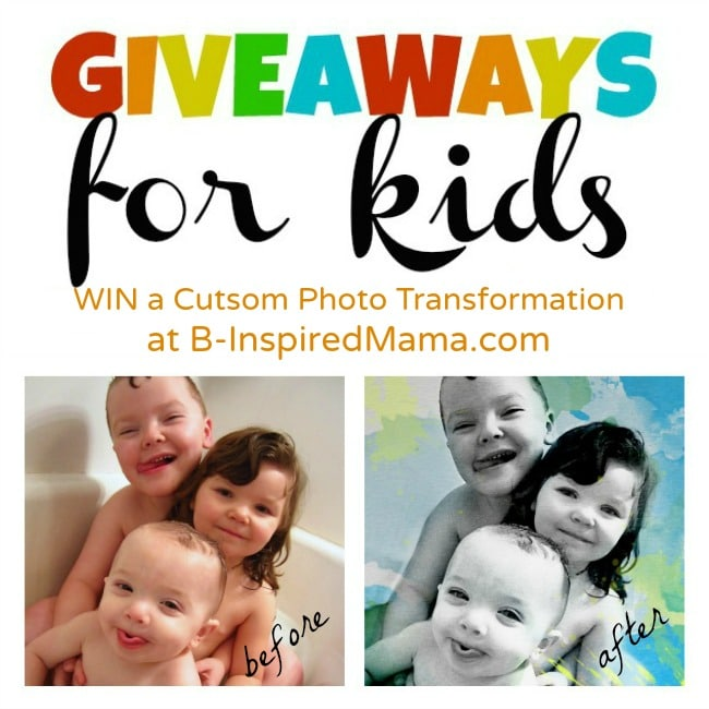 My Own Art Giveaway for Kids at B-InspiredMama