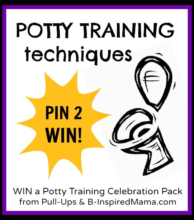 4 Popular Child Potty Training Techniques [+ Pull-Ups Giveaway]