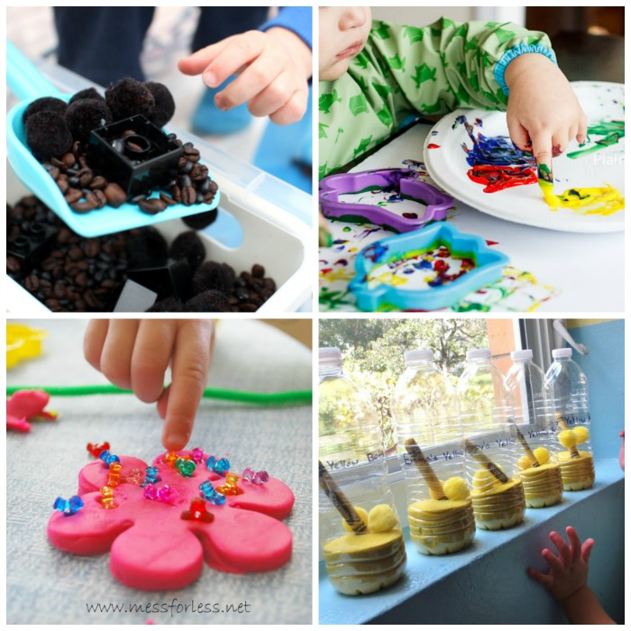 30+ Activities for Toddlers from The Kids Co-Op at B-InspiredMama.com