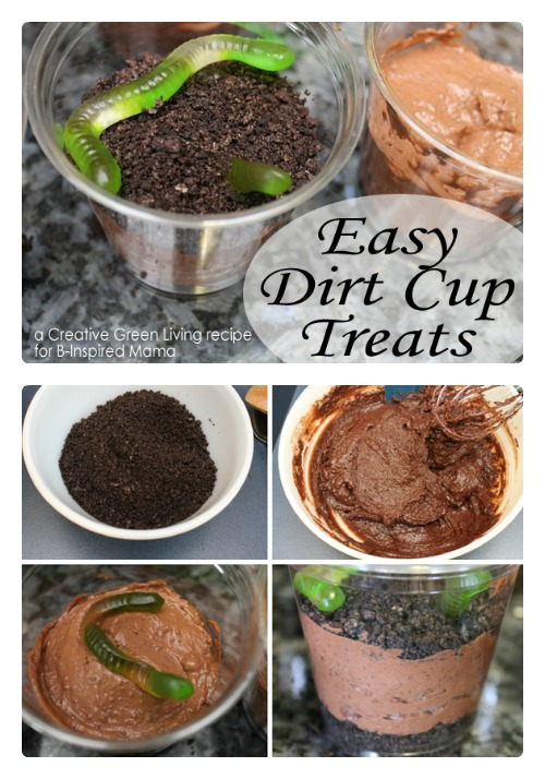 Earth Day Dirt Cup Treat