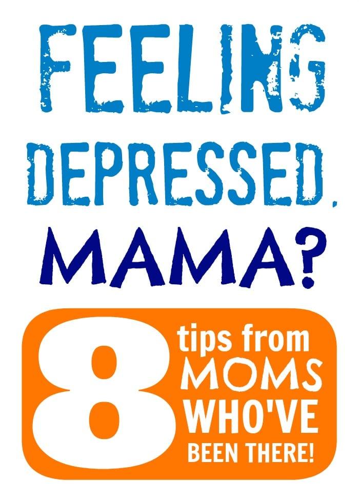 Feeling Depressed, Mama?