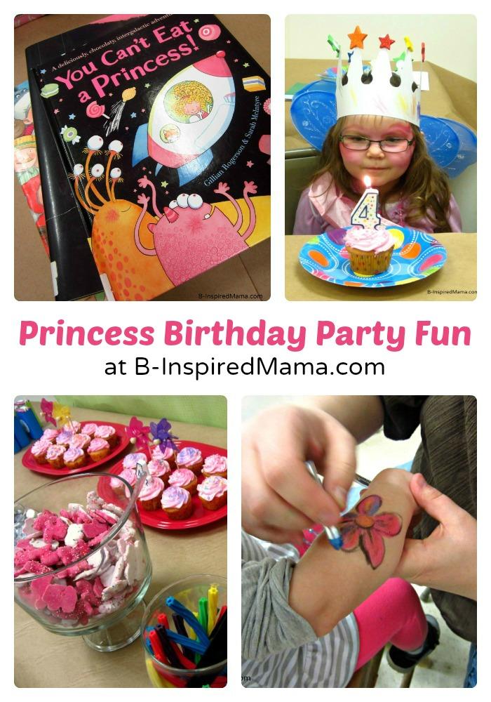Priscilla's Happy Birthday Princess Party