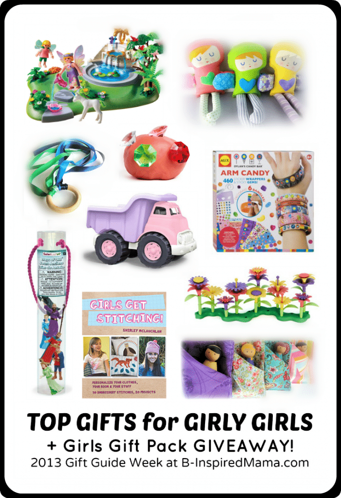 {2013 Gift Guide Week} Top Picks for Girly Girls