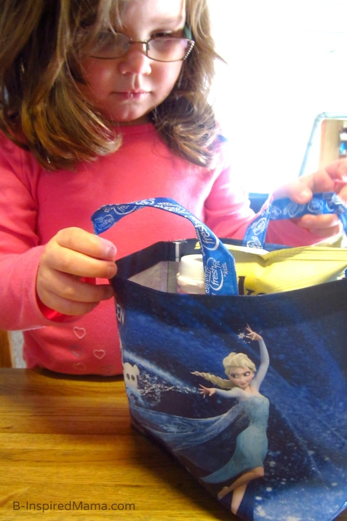 Subway for Lunch - Ice and Snow Indoor Kids Play with Disney FROZEN at B-Inspired Mama #FrozenFun #shop #cbias