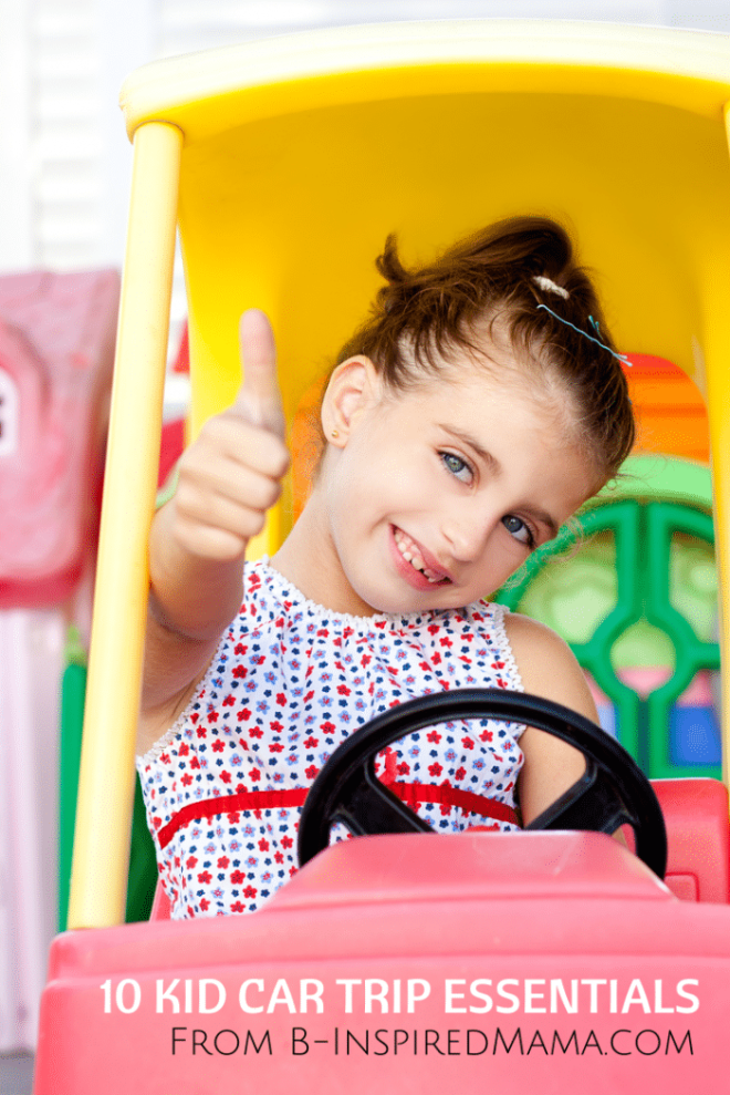 10 Essentials for Car Travel for Kids [Sponsored by Playtex] B-Inspired Mama