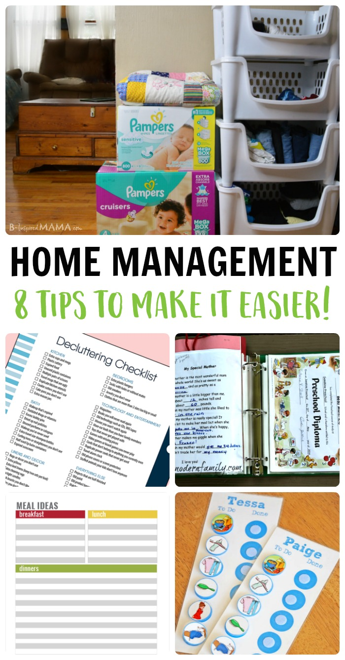 Moms Best I Have To Run A Household Too Home Management Tips For Moms