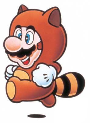 Tanuki Bear Mario