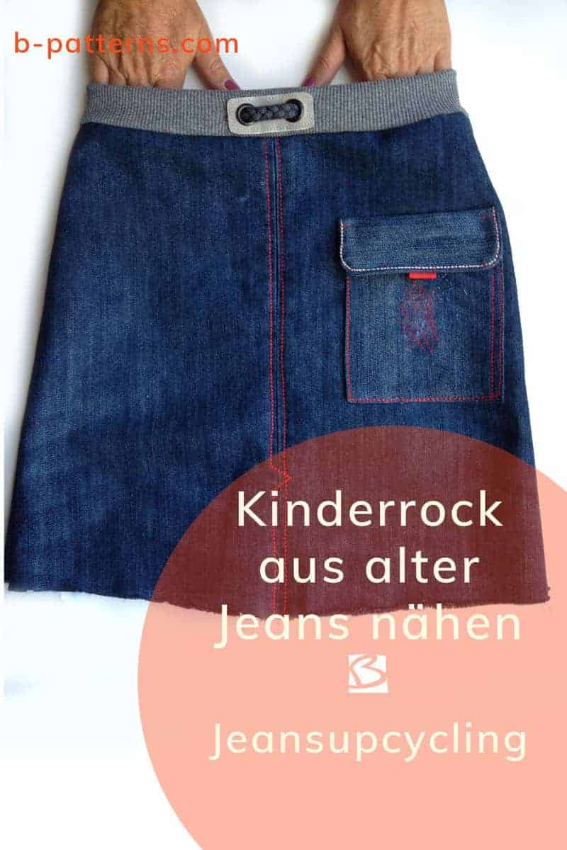 Schnittmuster Kinder Jeans Jeansrefashion Kinderrock Aus Alter Jeans Nähen B Patterns