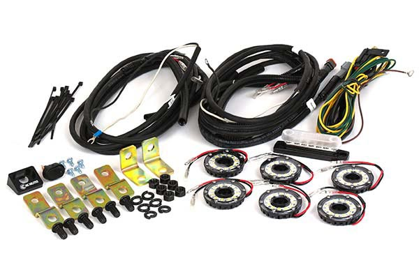 KC HiLites Cyclone LED Rock Light Kit Reviews FREE SHIPPING!