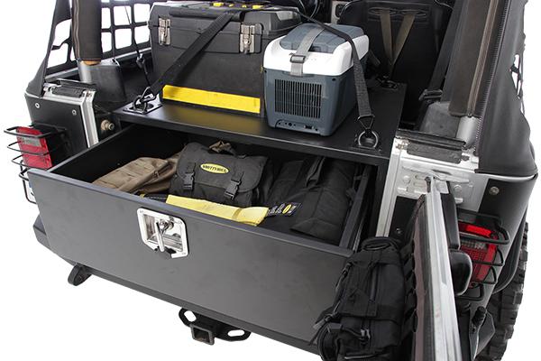 Jeep Rear Securitycargo Storage Box Smittybilt