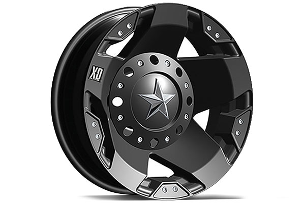 XD Series 775 Rockstar Matte Black Wheels - FREE SHIPPING