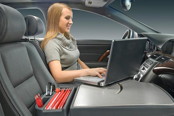 Auto Exec RoadMaster Mobile Office  Laptop Desk - Auto Exec