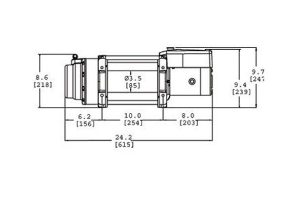 Warn Remote Winch Control Wiring Diagram Free Picture Warn 68801 Warn Winch 16 5ti Thermometric Free Shipping