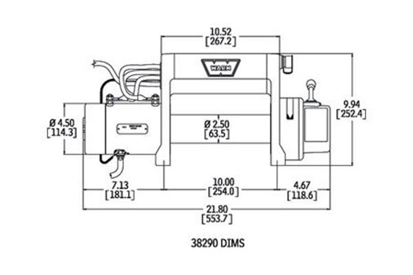 internal wiring diagram for warn xd9000i