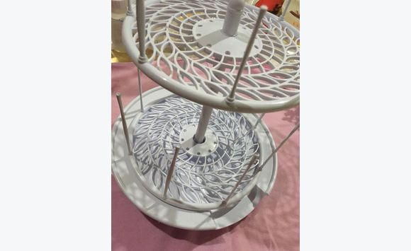 Spinning Drying Rack Organizer Furniture And Decoration