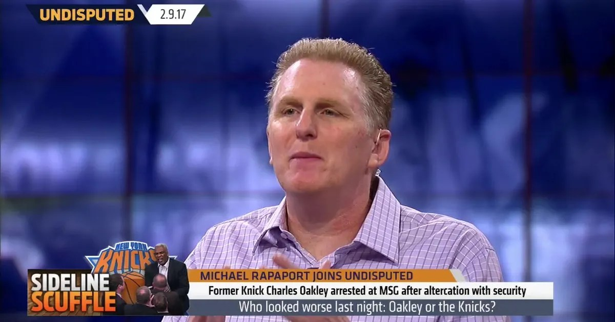 Michael Rapaport39s Reaction To Knicks Treatment Of Charles