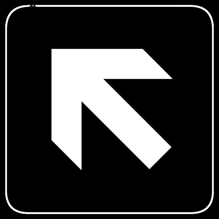 Sign Arrow American Institute of Graphic Arts Logo CC0 - Square