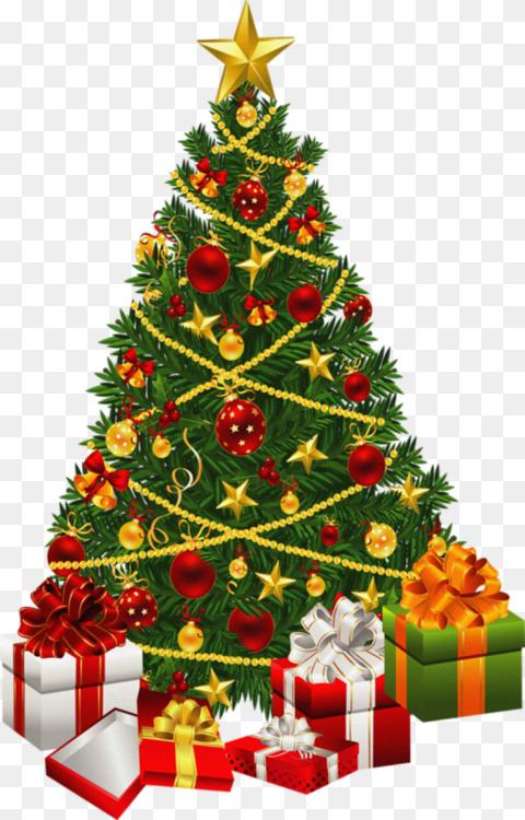 Christmas tree Christmas lights Animation CC0 - Fir,Pine Family