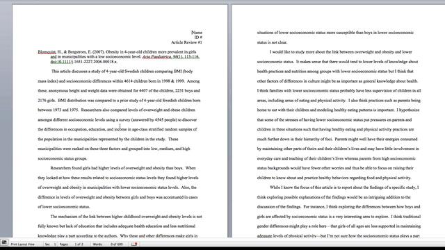 Article summary format example - How to Summarize a Journal Article