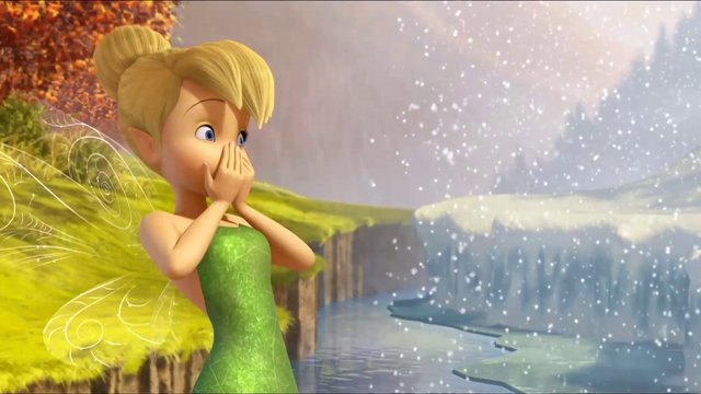 Free Animated Falling Snow Wallpaper New Kids Cartoons Tinkerbell And Mysterious Winter Woods