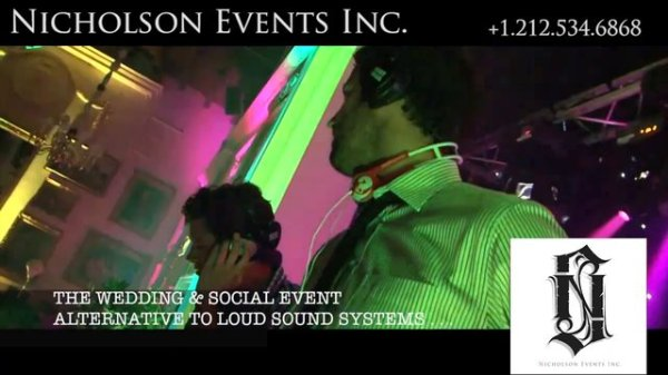 WEDDING & SOCIAL EVENT ALTERNATIVE TO LOUD SOUND SYSTEMS IS HERE! - Nicholson Events Inc