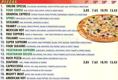 Pizza On Line Menu, Menu for Pizza On Line, Croydon, London - Zomato UK