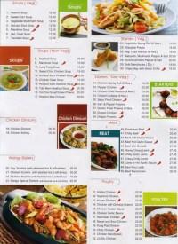 Wang's Kitchen Menu, Menu for Wang's Kitchen, Barsha 1