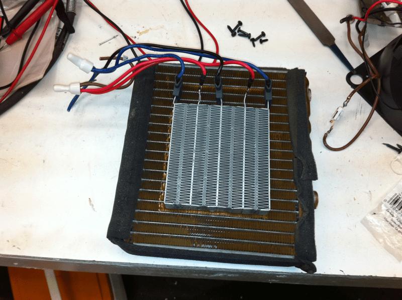 making electric circuit
