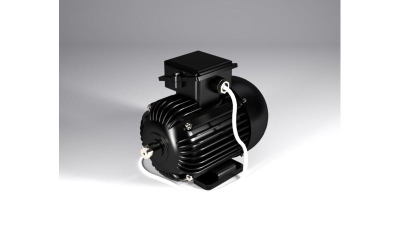 Electric motor - 3D CAD Models  2D Drawings