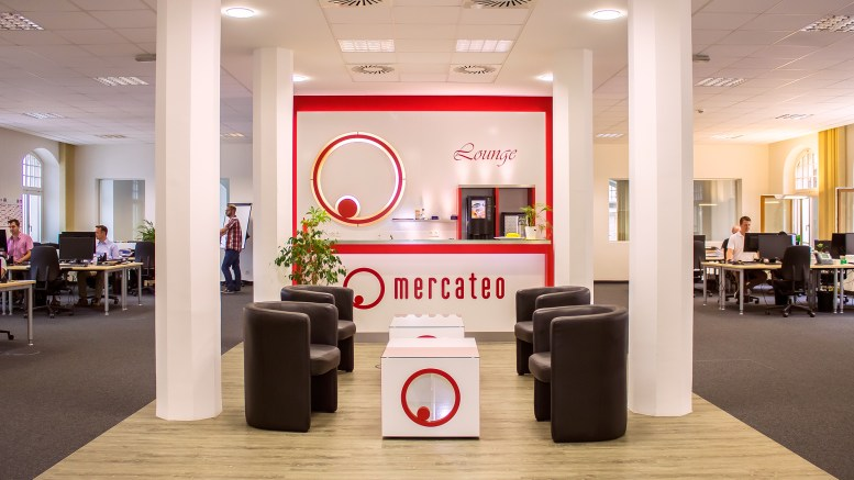 Mercateo-Lobby in Leipzig