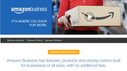 Screenshot Amazon Business