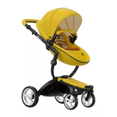 Mima Xari 2 In 1 Mima® Xari Black Chassis Stroller In Black Yellow Buybuy