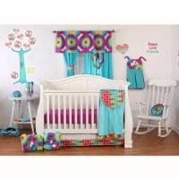 One Grace Place Terrific Tie Dye Crib Bedding Set ...