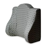 Buy Back Buddy Support Pillow in Grey from Bed Bath & Beyond
