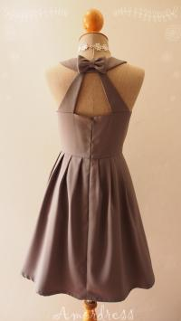 LOVE POTION - Charcoal Gray Dress, Gray Bridesmaid Dress ...