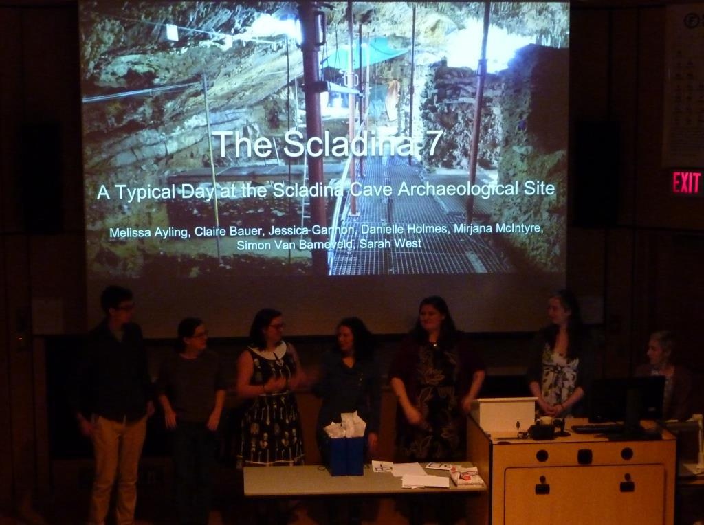 Scladina Internship (Belgium) Anthropology VIU