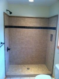 Tile Shower installation in Ellijay GA- Blueridge ...
