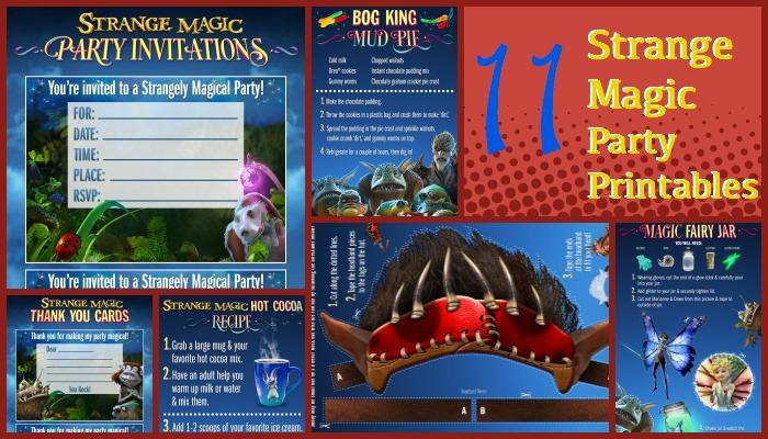 Strange Magic Birthday Party Ideas & Printables