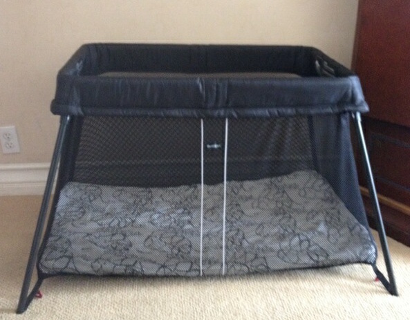 baby bjorn travel crib light review and giveaway closed babes in. Black Bedroom Furniture Sets. Home Design Ideas