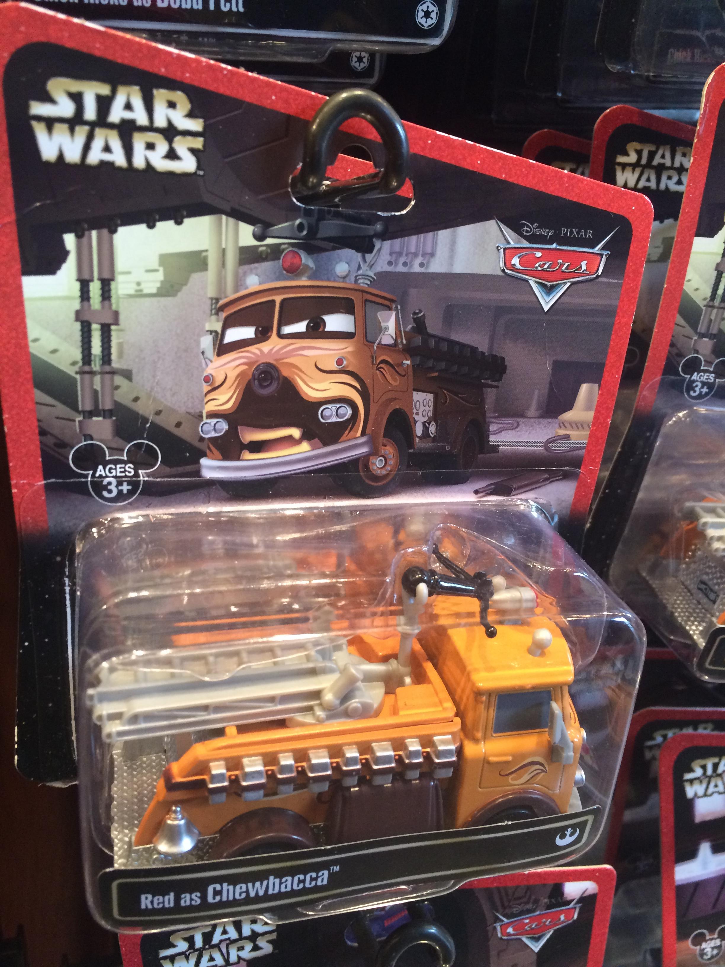 Merchandise Monday: Disney Star Wars Pixar Cars Toys ...