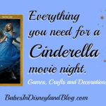 Everything you need for a Cinderella movie night