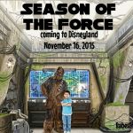 Season of the Force coming to Disneyland November 16