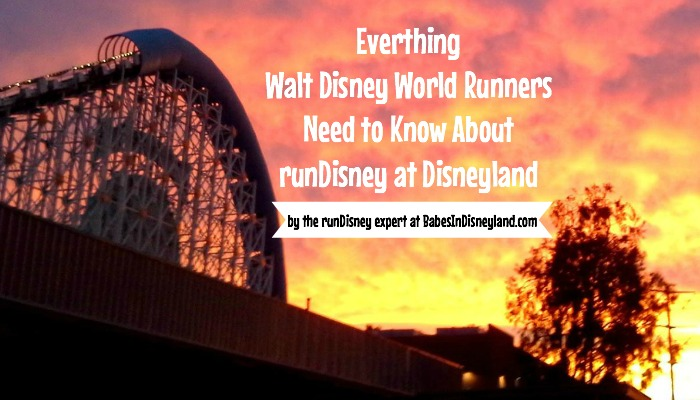 Everything Walt Disney World Runners Need to Know About runDisney at Disneyland