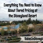 Disneyland tiered seasonal pricing
