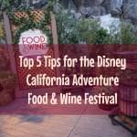 DCA Food & Wine Features