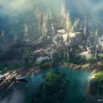 New Star Wars Land Artist Rendering – Details you may have missed!