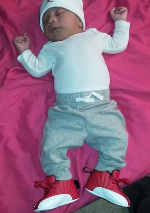 Baby Josiah X.  Moreno